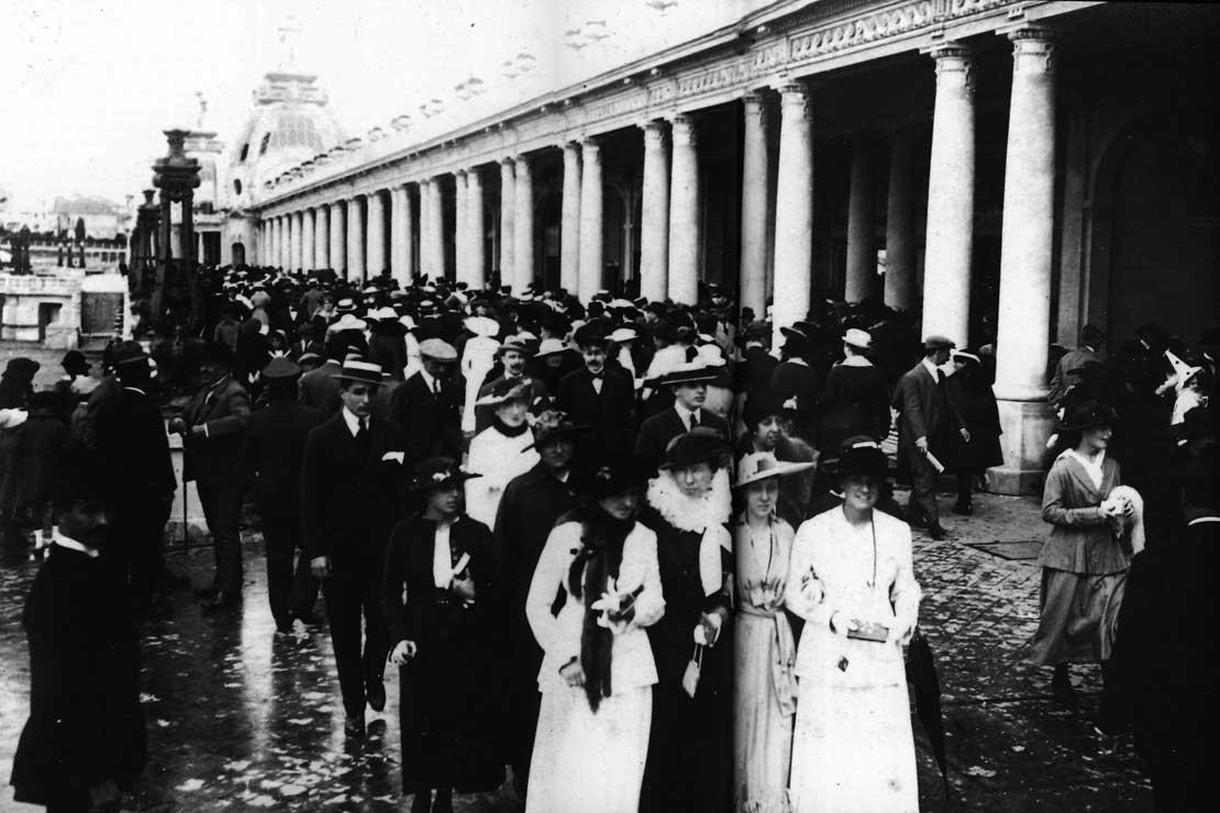 La rambla de Mar del Plata vers 1920