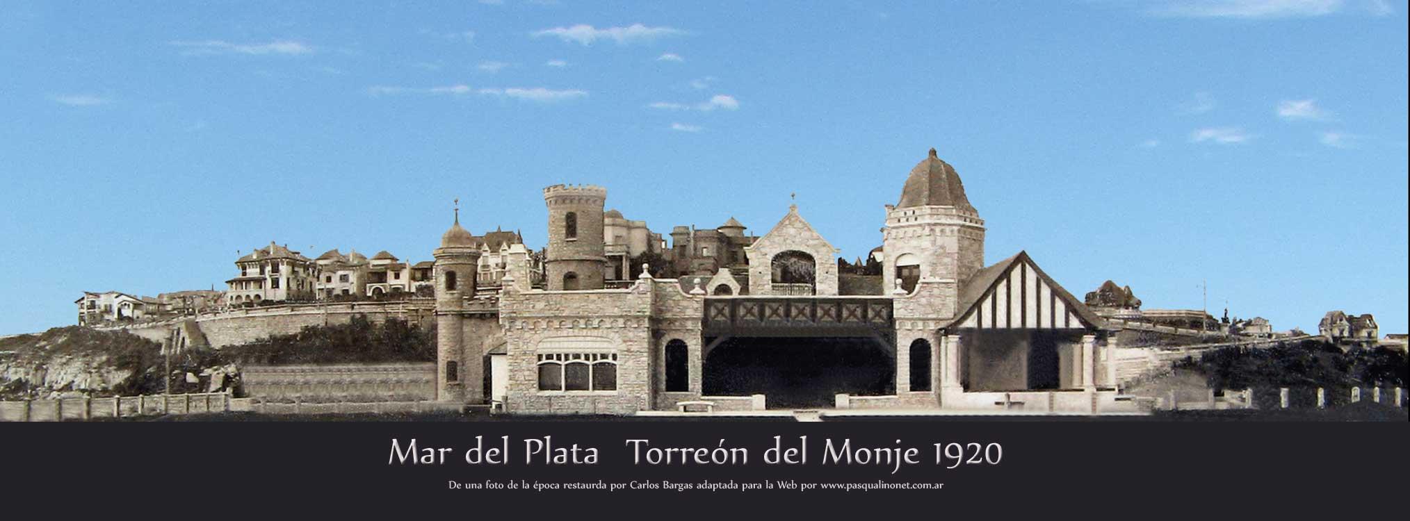 La leyenda del Torreón del Monje (Mar del Plata)